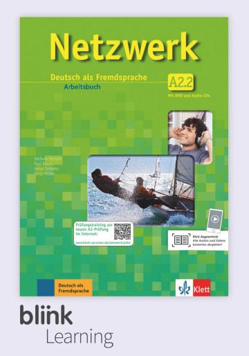 Cover Netzwerk A2.2, versión digital NP01160614302 Deutsch als Fremdsprache (DaF)