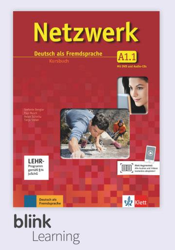 Cover Netzwerk A1.1 - Digitale Ausgabe mit LMS NP01160613101 Deutsch als Fremdsprache (DaF)