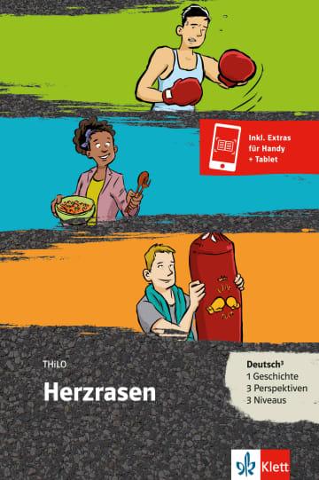 Cover Herzrasen 978-3-12-688078-7 THiLO Deutsch als Zweitsprache (DaZ)