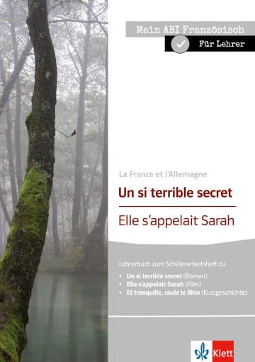 Cover Un si terrible secret | Elle s'appelait Sarah 978-3-12-591617-3 Silke Humburg, Eva Müller Französisch