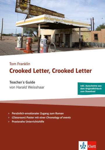 Cover Crooked Letter, Crooked Letter 978-3-12-579901-1 Harald Weisshaar, Tom Franklin Englisch