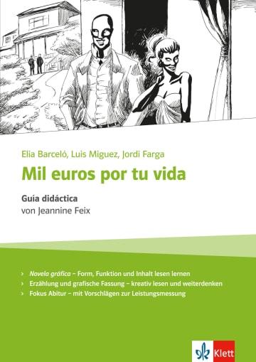 Cover Mil euros por tu vida 978-3-12-535664-1 Jeannine Feix, Elia Barceló Spanisch
