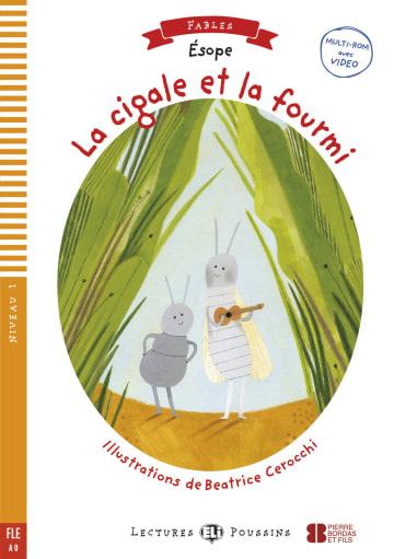 Cover La cigale et la fourmi 978-3-12-515112-3 Äsop Französisch