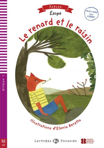 Cover Le renard et les raisins 978-3-12-515113-0 Äsop Französisch