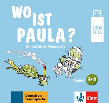Cover Wo ist Paula? 3+4 978-3-12-605293-1 Deutsch als Fremdsprache (DaF)