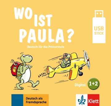 Cover Wo ist Paula? 1+2 978-3-12-605292-4 Deutsch als Fremdsprache (DaF)
