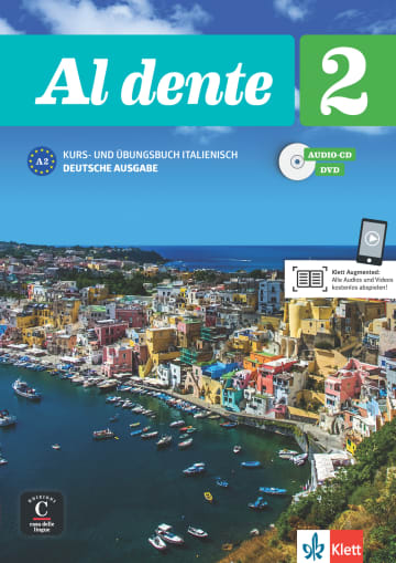 Cover Al dente 2 (A2) 978-3-12-525385-8 Italienisch