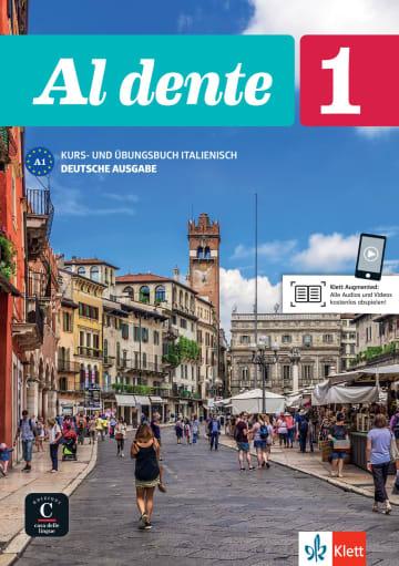 Cover Al dente 1 (A1) 978-3-12-525381-0 Italienisch