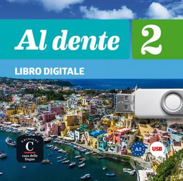 Cover Al dente 2 (A2) 978-3-12-525387-2 Italienisch