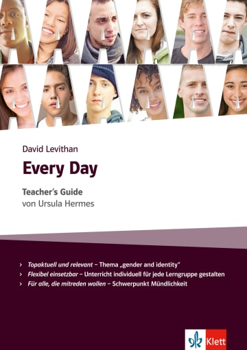 Cover Every Day 978-3-12-578209-9 Ursula Hermes, David Levithan Englisch
