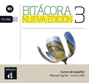 Cover Bitácora 3 Nueva Edición (B1) 978-3-12-515702-6 Spanisch