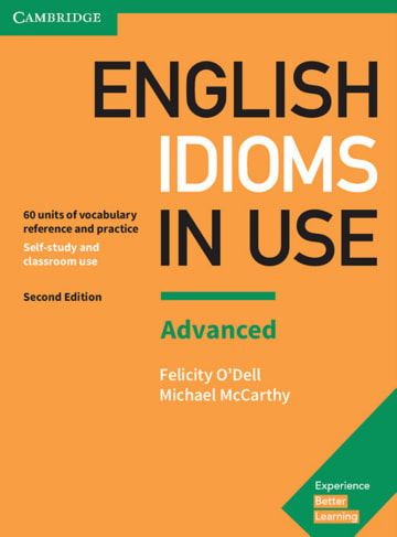 Cover English idioms in Use Advanced 2nd Edition 978-3-12-541010-7 Englisch