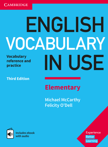 Cover English Vocabulary in Use Elementary 3rd Edition 978-3-12-541014-5 Englisch