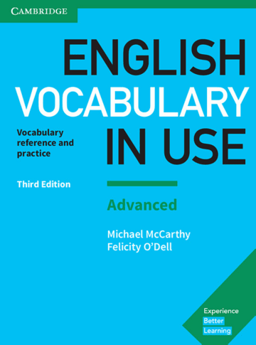 Cover English Vocabulary in Use Advanced 3rd Edition 978-3-12-541024-4 Englisch