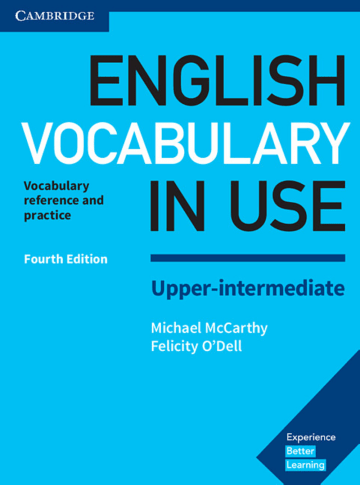 Cover English Vocabulary in Use Upper-intermediate 4th Edition 978-3-12-541021-3 Englisch