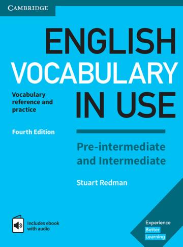 Cover English Vocabulary in Use Pre-intermediate and Intermediate 4th Edition 978-3-12-541017-6 Englisch
