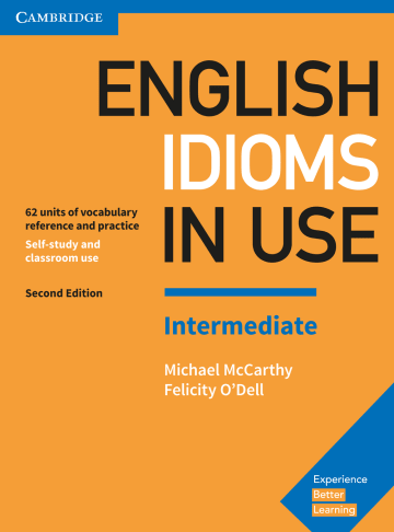 Cover English Idioms in Use Intermediate 2nd Edition 978-3-12-541009-1 Englisch