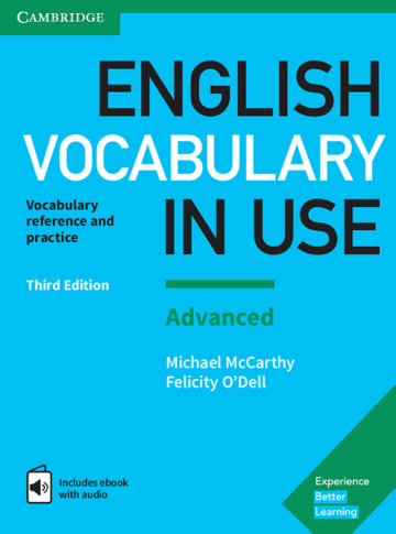 Cover English Vocabulary in Use Advanced 3rd Edition 978-3-12-541023-7 Englisch