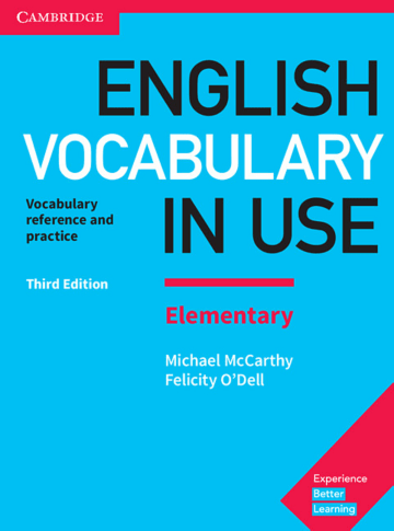 Cover English Vocabulary in Use Elementary 3rd Edition 978-3-12-541015-2 Englisch