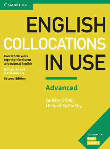 Cover English Collocations in Use Advanced 2nd Edition 978-3-12-541008-4 Englisch