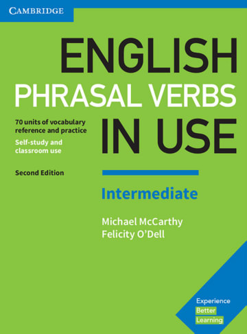 Cover English Phrasal Verbs in Use Intermediate 2nd Edition 978-3-12-541012-1 Englisch