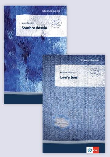 Cover Lavi's Jean / Sombre dessin 978-3-12-592350-8 Marie Bouvier, Eugénie Ribault Französisch