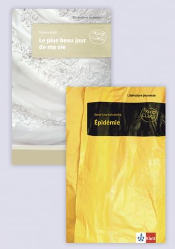Cover Le plus beau jour de ma vie / Épidémie 978-3-12-592352-2 Anne-Lise Lafranche, Tamara Raidt Französisch