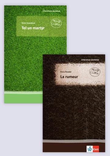 Cover La rumeur / Tel un martyr 978-3-12-592351-5 Elorn Goasdoué, Elora Roudet Französisch