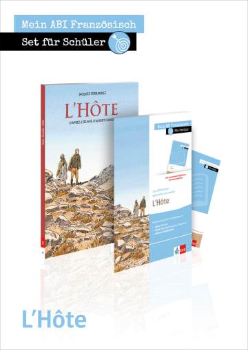 Cover L'Hôte 978-3-12-592328-7 Französisch