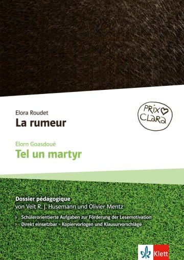 Cover La rumeur / Tel un martyr 978-3-12-592354-6 Französisch