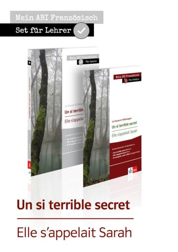 Cover Un si terrible secret, Elle s'appelait Sarah X681290 Französisch