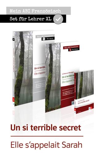Cover Un si terrible secret, Elle s'appelait Sarah X681289 Französisch
