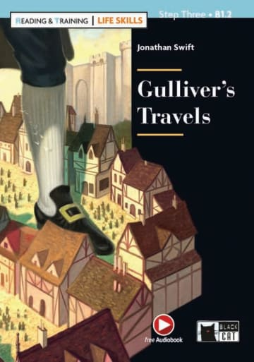 Cover Gulliver's Travels 978-3-12-500109-1 Jonathan Swift Englisch