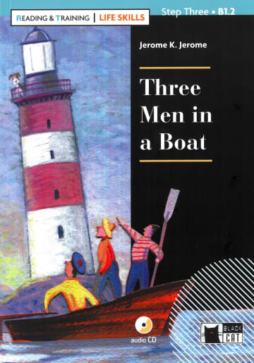 Cover Three Men in a Boat 978-3-12-500110-7 Jerome K. Jerome Englisch