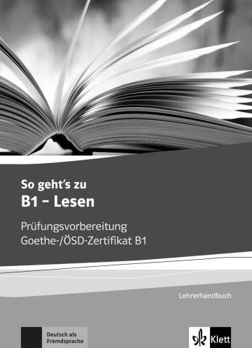 Cover So geht's noch besser zu B1 - Lesen 978-3-12-675027-1 Deutsch als Fremdsprache (DaF)
