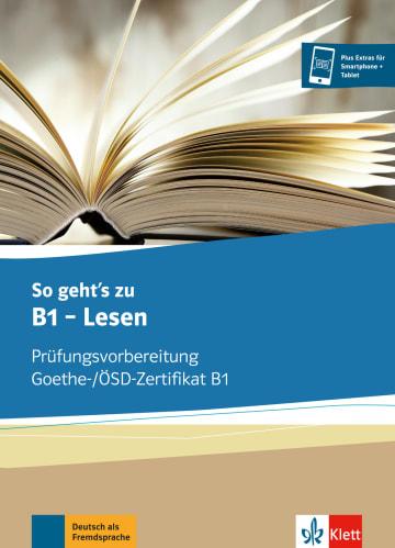 Cover So geht's noch besser zu B1 - Lesen 978-3-12-675587-0 Deutsch als Fremdsprache (DaF)