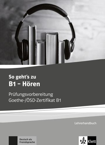 Cover So geht's noch besser zu B1 - Hören 978-3-12-675017-2 Deutsch als Fremdsprache (DaF)