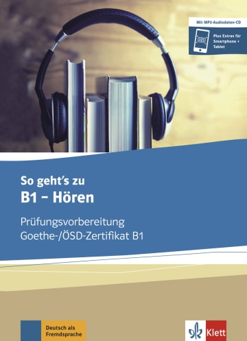 Cover So geht's noch besser zu B1 - Hören 978-3-12-675585-6 Deutsch als Fremdsprache (DaF)