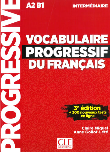 Cover Vocabulaire progressif du français, 3ème édition 978-3-12-595303-1 Französisch