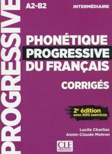 Cover Phonétique progressive du français, Niveau intermédiaire 978-3-12-529967-2 Französisch
