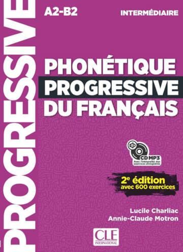 Cover Phonétique progressive du français, Niveau intermédiaire 978-3-12-529968-9 Französisch