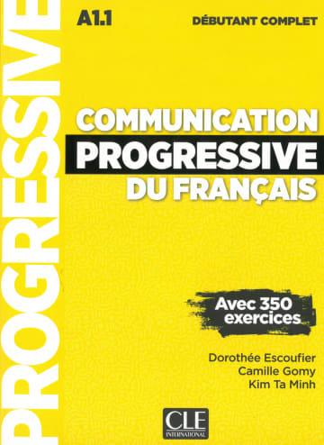 Cover Communication progressive du français, Niveau débutant complet 978-3-12-529958-0 Französisch