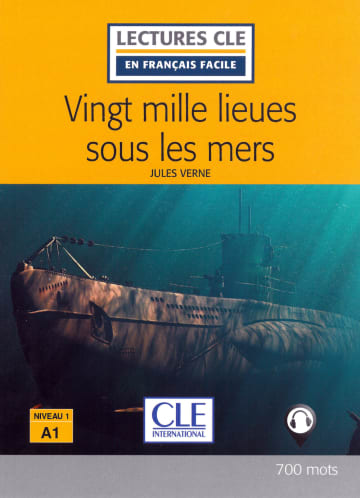 Cover Vingt mille lieues sous les mers 978-3-12-593128-2 Französisch