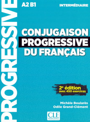 Cover Conjugaison progressive, Niveau intermédiaire 978-3-12-529988-7 Französisch