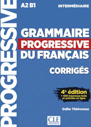 Cover Grammaire progressive du français, Niveau intermédiaire. 4e édition 978-3-12-525995-9 Französisch