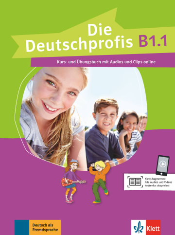 Cover Die Deutschprofis B1.1 978-3-12-676486-5 Deutsch als Fremdsprache (DaF)
