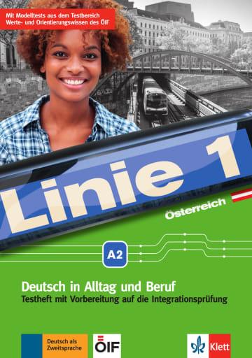 Cover Linie 1 Österreich A2 978-3-12-607152-9 Deutsch als Zweitsprache (DaZ)