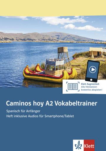 Cover Caminos hoy A2 Vokabeltrainer 978-3-12-515769-9 Spanisch