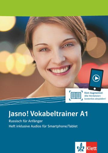 Cover Jasno! A1 Vokabeltrainer 978-3-12-527604-8 Russisch