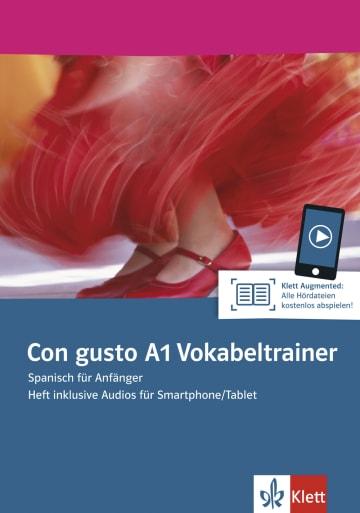 Cover Con gusto A1 Vokabeltrainer 978-3-12-514698-3 Spanisch